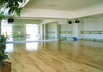高松スタジオ(2階)1~30名 フローリング